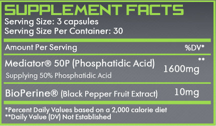 Phosphatidic Acid | With Bioperine