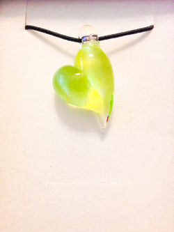 Green Jello Pendant
