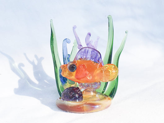 Miniature Aquatic Sculpture