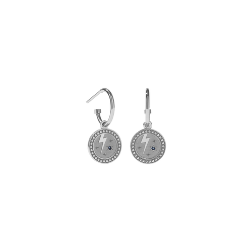 Amulet Strength Earrings | Sterling Silver