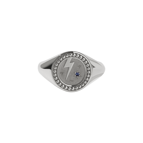 Amulet Strength Signet Ring | Sterling Silver