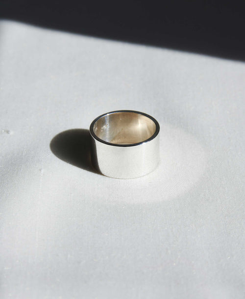 12mm Plain Band | Sterling Silver