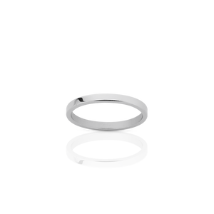 2mm Plain Band | Sterling Silver