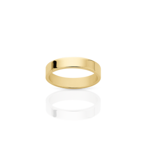 3mm Plain Band | 18ct Yellow Gold