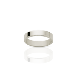 3mm Plain Band | 9ct White Gold