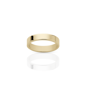3mm Plain Band | 9ct Yellow Gold
