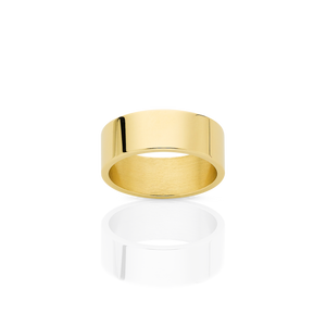 6mm Plain Band | 18ct Yellow Gold