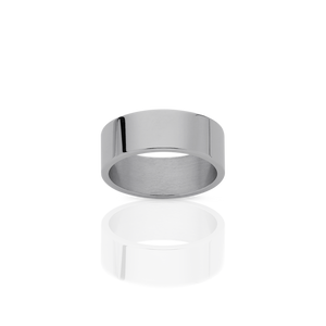 6mm Plain Band | Platinum