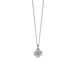 August Necklace | Sterling Silver