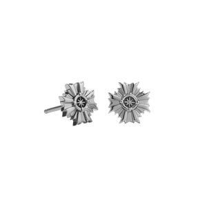 August Stud Earrings | Sterling Silver