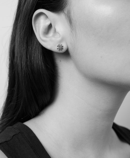August Stud Earrings | Gold Plated