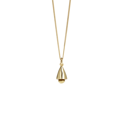 Bell Necklace | Gold Plated