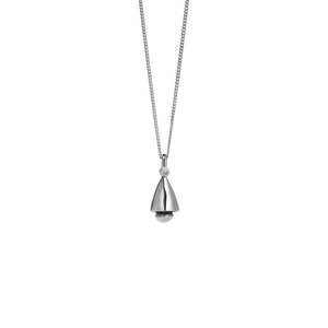 Bell Necklace | Sterling Silver