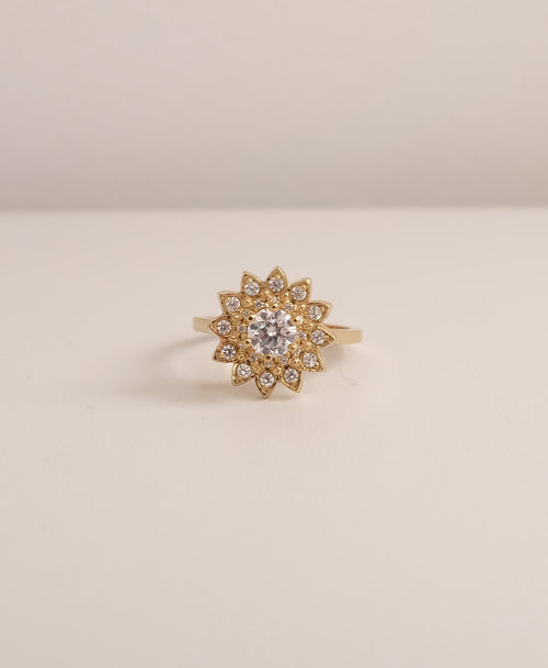 Dahlia Ring | 18ct Yellow Gold