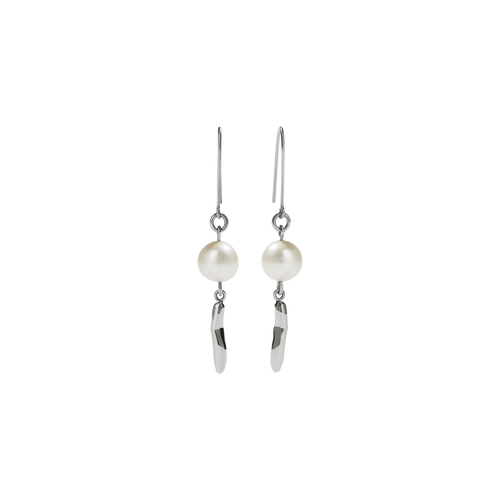 Dune Drop Earrings | Sterling Silver