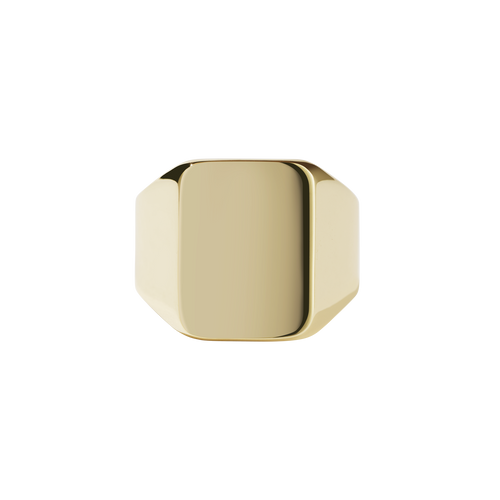 Fairfax Signet Ring | Gold Plated