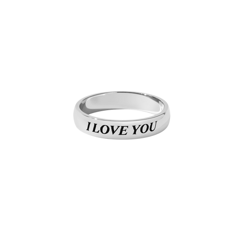 Love Band Round | Sterling Silver