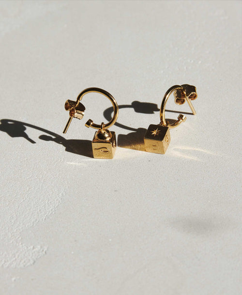 Lumiere Signature Hoops | Gold Plated