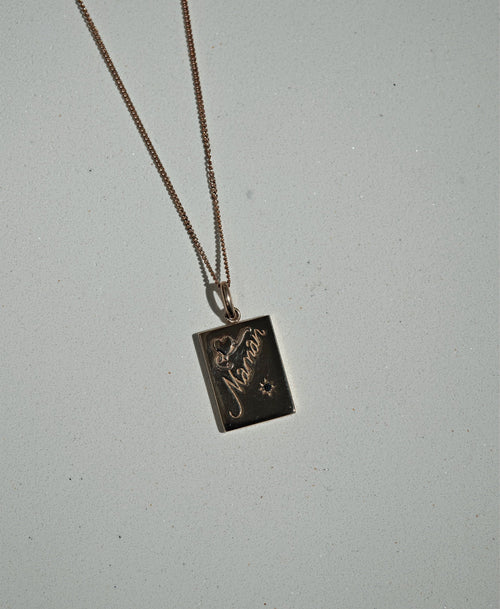 Maman Necklace | Sterling Silver