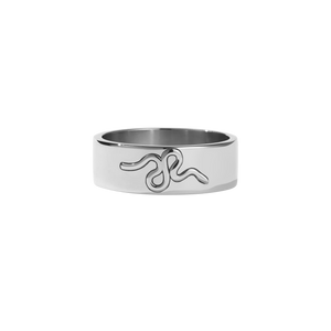 Medusa Band | Sterling Silver