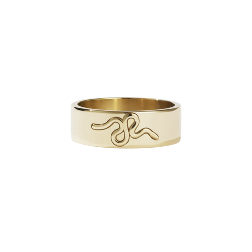 Medusa Band | 9ct Yellow Gold