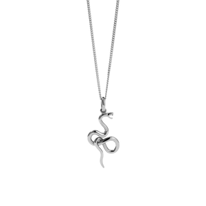 Medusa Necklace | Sterling Silver