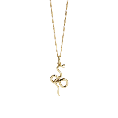 Medusa Necklace | 9ct Yellow Gold