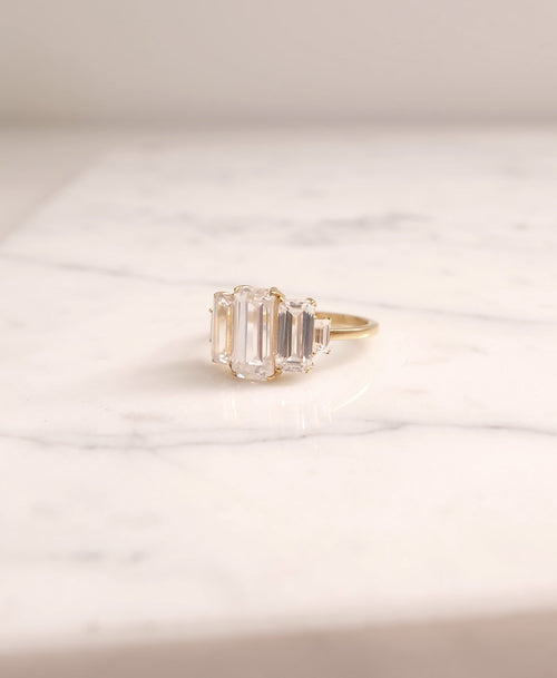 Monroe Ring | 14ct Yellow Gold