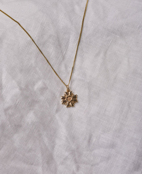 August Necklace | Gold Plated