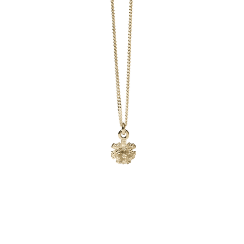 Pom Pom Charm Necklace | Gold Plated
