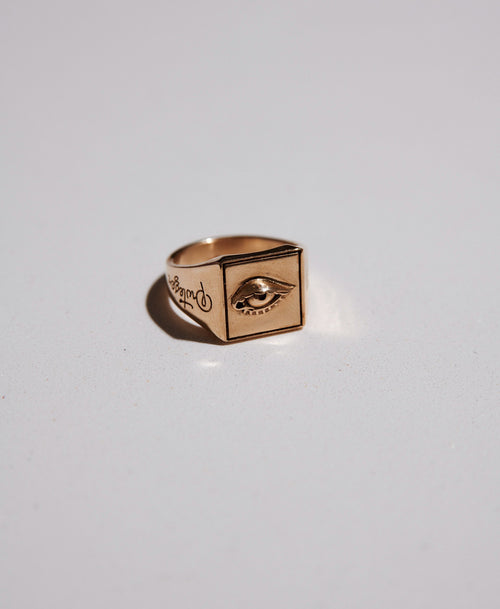 Proteger Ring | Gold Plated