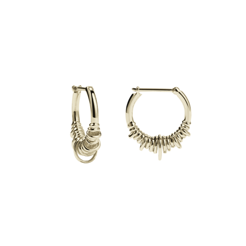 Revival Hoop Earrings Small | Gold Plated
