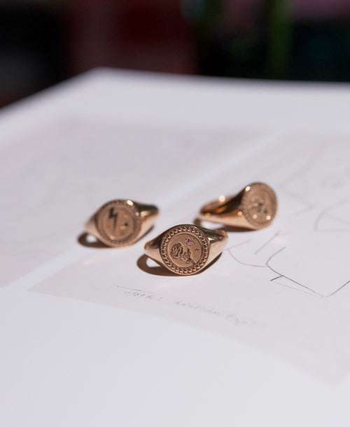 Amulet Love Signet Ring | Sterling Silver