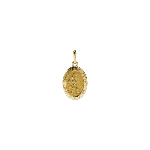 St Christopher Charm | 9ct Yellow Gold