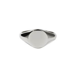 Sunset Signet Ring | Sterling Silver