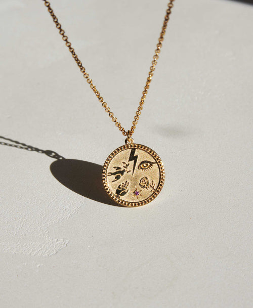 Talisman Necklace | 9ct Yellow Gold