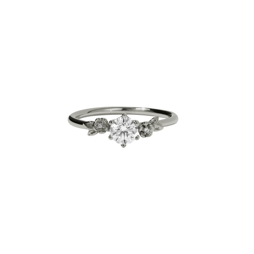Alba Ring | 14ct White Gold