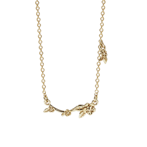 Alba Vine Necklace | Gold Plated