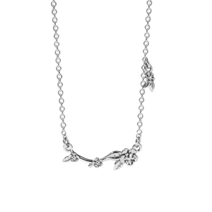 Alba Vine Necklace | Sterling Silver
