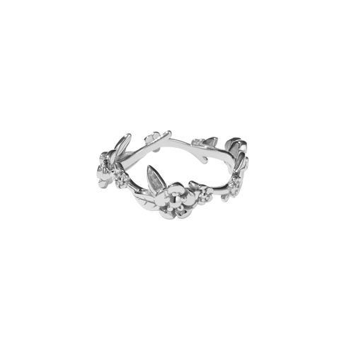 Alba Vine Ring | Sterling Silver