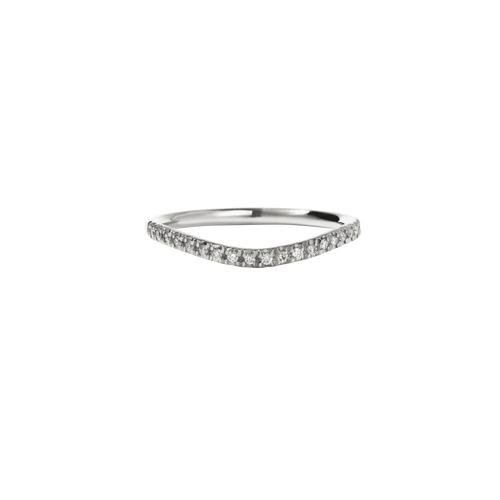 Amelie Band Pave | Platinum