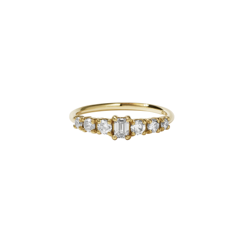 Amelie Ring | 14ct Yellow Gold