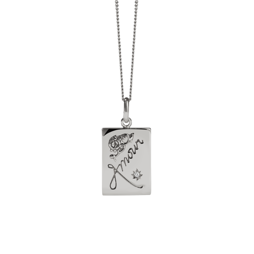 Amour Necklace | Sterling Silver