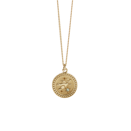 Amulet Peace Necklace | 9ct Yellow Gold