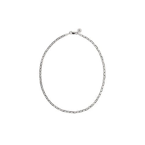 Anchor Chain Anklet | Sterling Silver