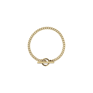 Fob Bracelet | 9ct Yellow Gold