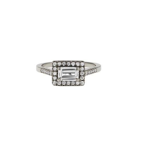 Arizona Ring Petite | 14ct White Gold