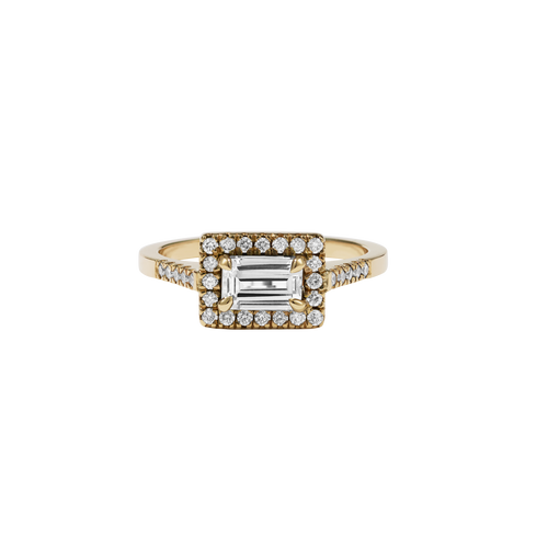 Arizona Ring Petite | 9ct Yellow Gold