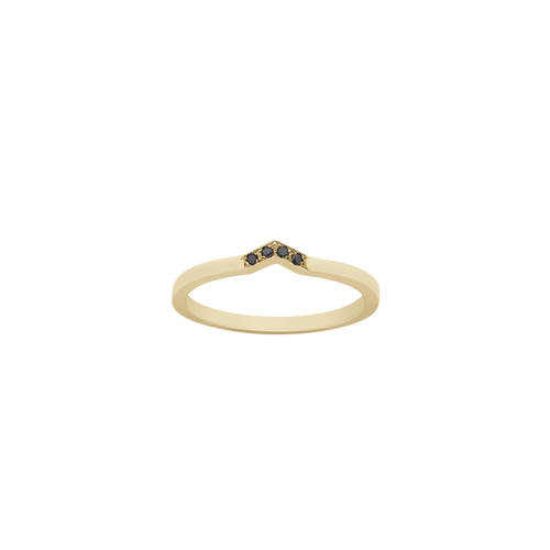 Arrow Band | 9ct Yellow Gold