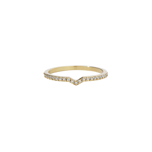 Arrow Eternity Band | 9ct Yellow Gold